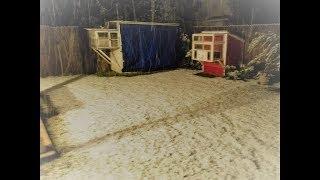 #x202b;تغطية اللوفتات و أقفاص الحمام في الشتاء#x202c;lrm;