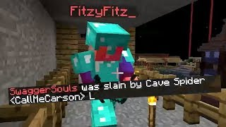 We beat up the Misfits in Minecraft