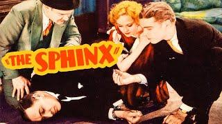 The Sphinx (1933) Adventure, Crime, Mystery