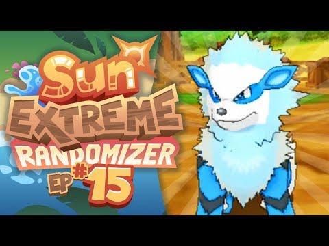 I GOT A WATER ARCANINE!! - Pokemon Sun Extreme Randomizer (Episode 15)