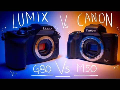 Canon M50 Vs Panasonic Lumix G80/85 - Best Budget YouTube Camera