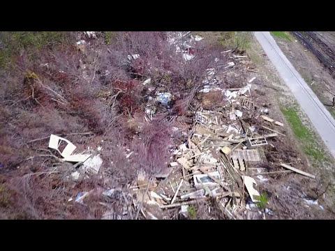 One Month After Hurricane Irma ,Florida Keys