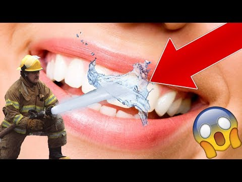 HOW TO STRAIGHTEN YOUR TEETH WITH WATER