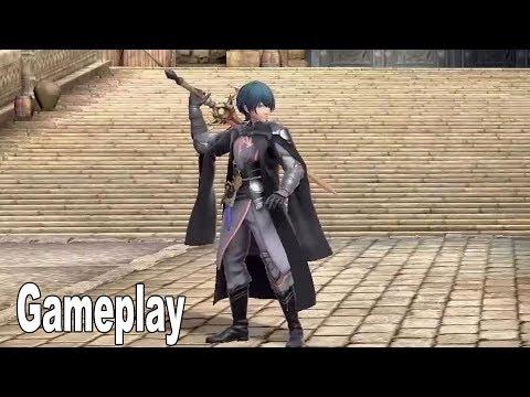 Super Smash Bros. Ultimate - Byleth Gameplay Demo [HD 1080P]
