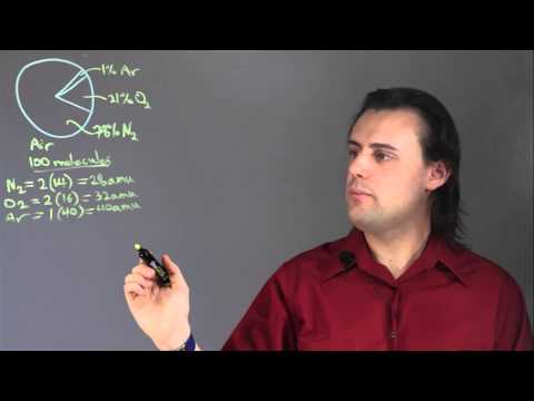 How Do You Find Percent by Mass With Given Percentages? : Physics & Calculus Lessons