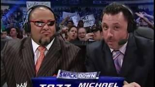 Eddie Guerrero, JBL, Christian vs Batista, Chris Benoit, Rey Mysterio/Eric Bischoff Cancels Match