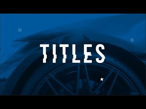 How to Make Cool Animated Titles for Your Videos 😎