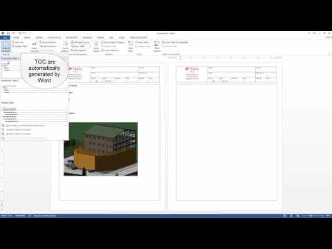 Creating a Project File in Tedds For Word