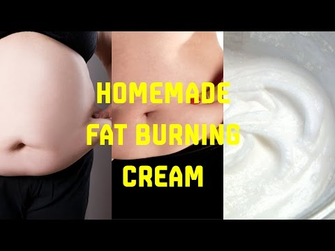 Homemade Fat Burning Cream, Using Natural Ingredients, Get Surprising Result | Weight Loss Cream