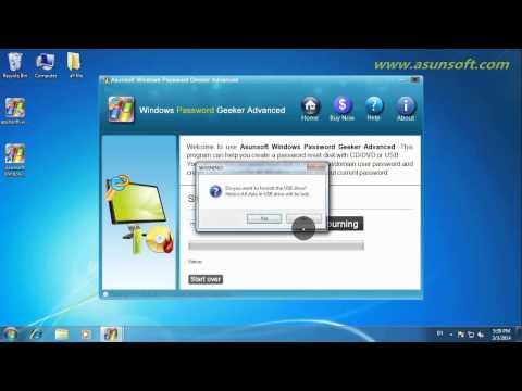 How to Reset HP ENVY Laptop Windows 8/8.1 Admin Password