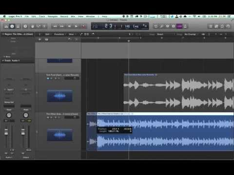 Logic Pro X Importing Songs for Remixes