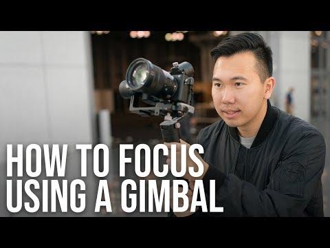 How to Focus When Using a Gimbal | Zhiyun Crane Plus + Sony Alpha Tutorial a6300 a6500 a7III a7RIII