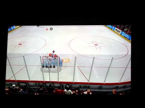 NHL 14 Between the Goalies Legs