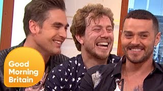 Busted on Playing the Huge Glastonbury Festival and the Far Smaller AmpRocks | Good Morning Britain