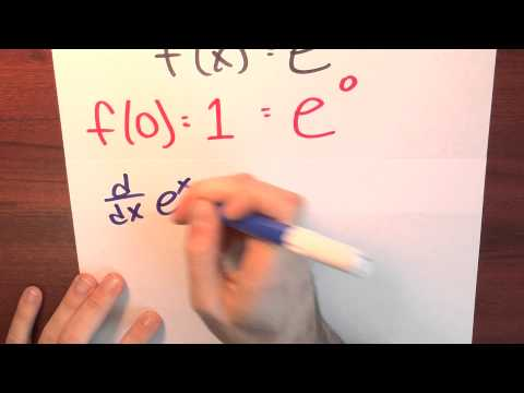 Why might I believe that sum (x^n)/(n!) is e^x? - Week 5 - Lecture 10 - Sequences and Series
