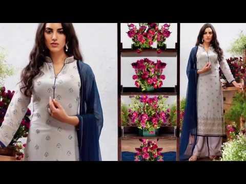 Pakistani Dresses Designs: Party Wear Designer Pakistani Suits Boutique Style Straight Salwar Kameez