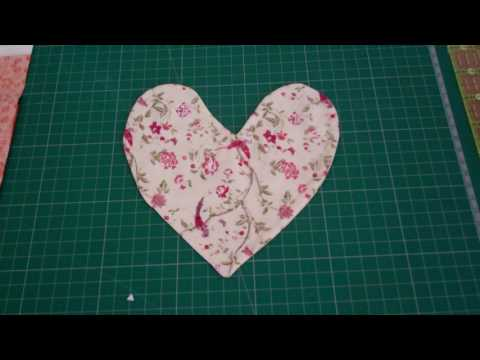 Tutorial on how to sew 'Bonding Hearts'