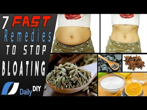 How To get Rid Of Bloating Fast || Fast Home Remedies To Reduce Bloating