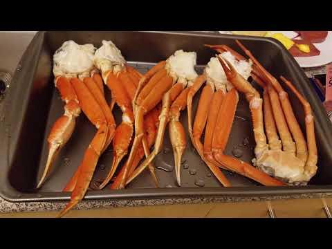 Baked Snow Crab Legs: ENJOY!!!