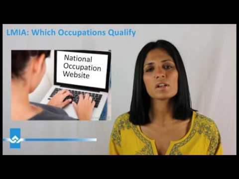 LMIA  Which Occupations Qualify