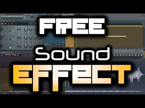 FREE SOUND EFFECT   How to Make a Sweep Effect in FL Studio (for Hardstyle & EDM)   Download Sample