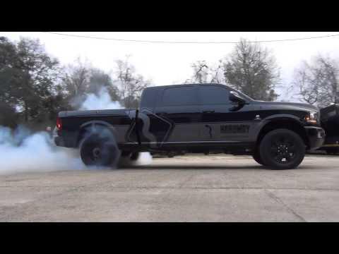 2015 Dodge Cummins 6.7L Burnout