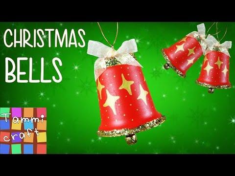 DIY: Stylish Christmas Tree Bell Decorations
