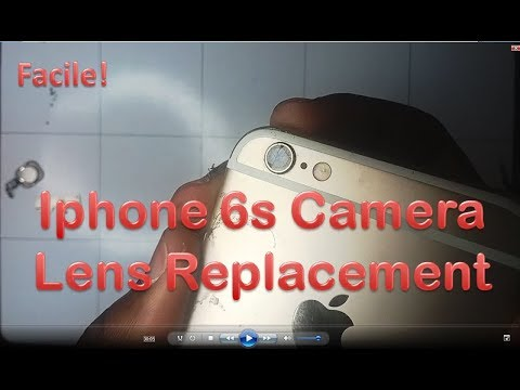 iPhone 6S Camera Lens Replacement