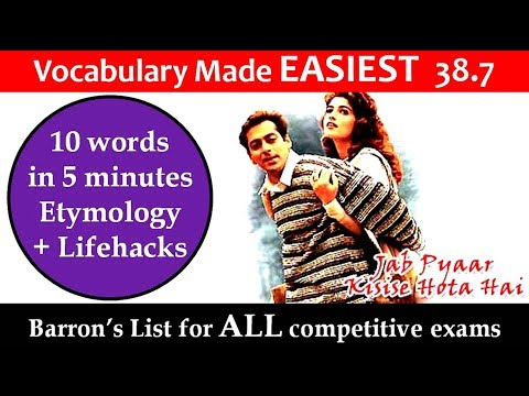 vocabulary made easiest 38.7 learn etymology by puneet biseria in hindi