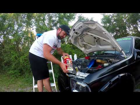 How to Change Your Oil: 2004 Ford F350 Diesel 6.0