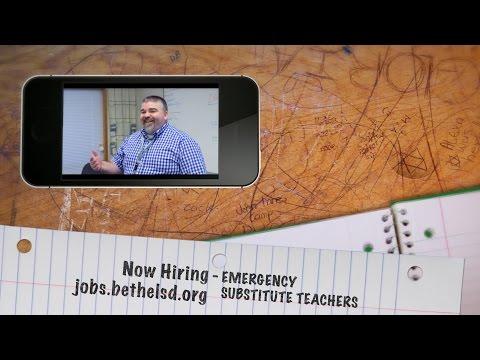 Now Hiring – Emergency Substitute Teachers
