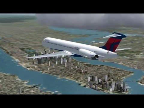KTPA-KJFK: Delta Airlines MD-88