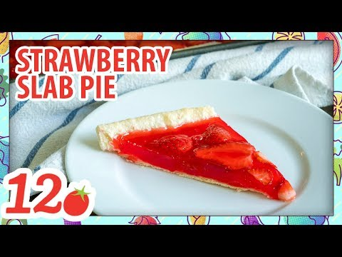 How to Make: Strawberry Slab Pie
