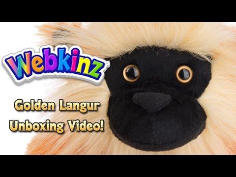 Webkinz Golden Langur Unboxing - NEW Pet May 2017!
