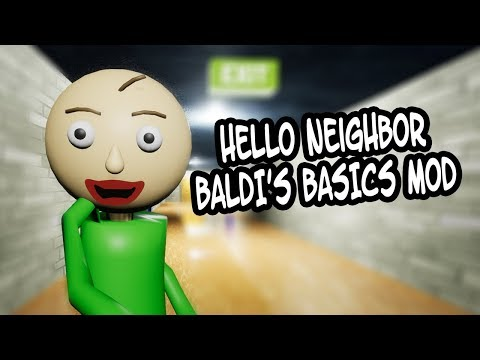 HELLO BALDI'S BASICS   Hello Neighbor Mod
