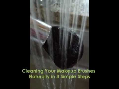3 Steps to Cleaning Makeup Brushes with Vinegar