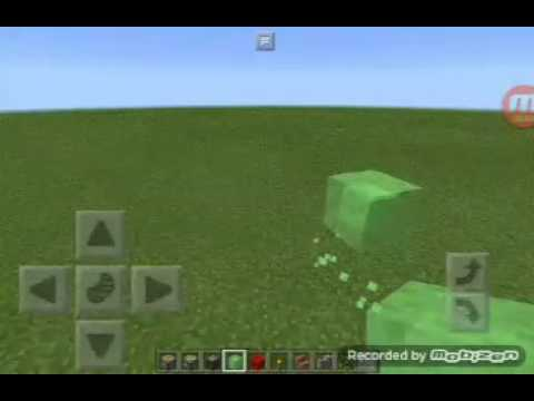 Minecraft pe - how to build a working helicopter