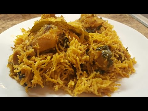 Spicy Chicken Pulao in Rice Cooker