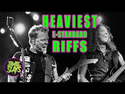 6 Guitar Riffs that Prove E Standard Tuning is Still Heavy AF