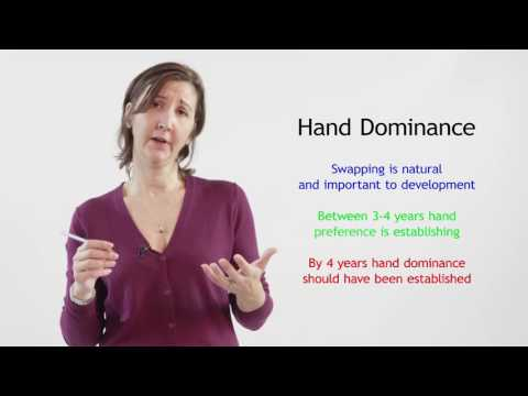 Developing a Hand Dominance