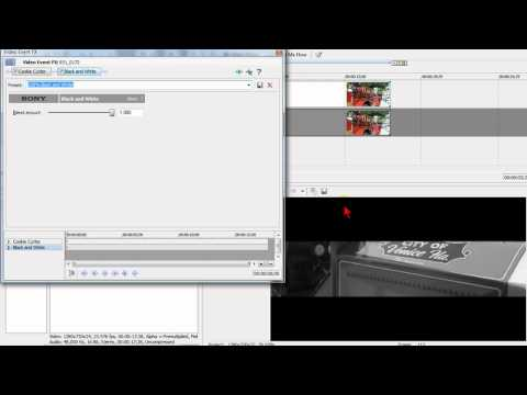 Using the Cookie Cutter Effect in Sony Vegas