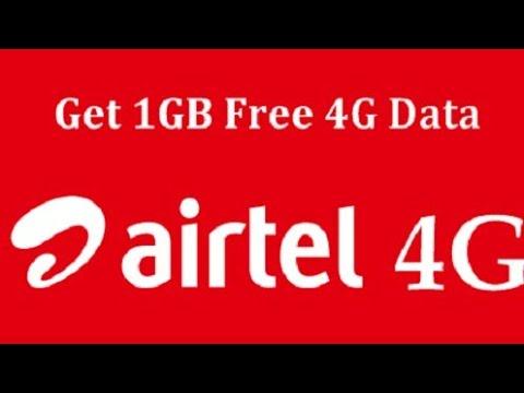 How to get Free 1GB 3G/4G Airtel data immediately || in telugu