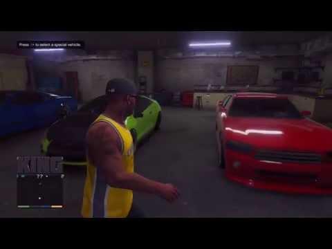 GTA V: FRANKLIN'S GARAGE!