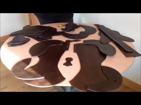 Making a WOW Western Saddle Part 1