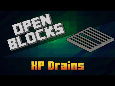 OpenBlocks - XP Drains