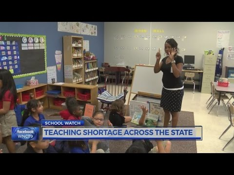 N.C., ECU deal with statewide teacher shortage