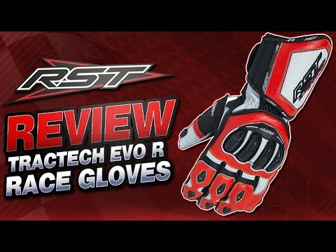 RST TracTech EVO R CE Gloves Review | Sportbike Track Gear