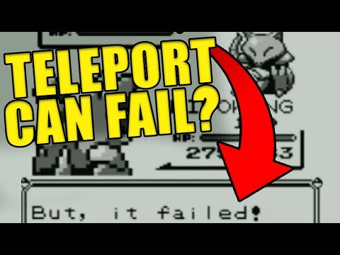 Pokemon Trivia: Wild Abra Can FAIL TELEPORT?!