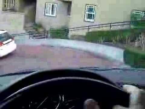 Driving my e38 BMW 740iL down Lombard St in San Francisco CA