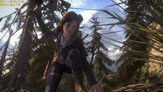 GTX 1070 Xtreme Gaming Rise of the Tomb Raider MAXED OUT FPS Counter & Vsync